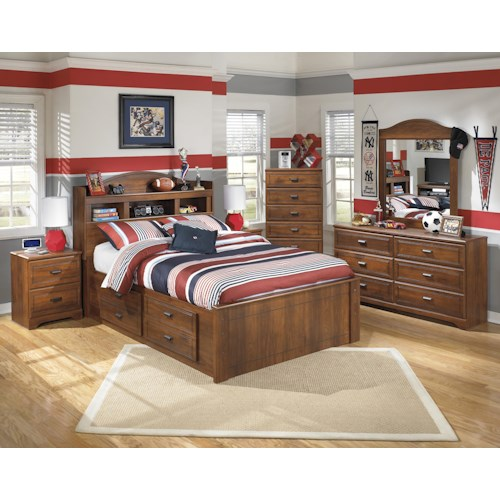 Signature Design by Ashley Barchan NOTE:Bed includes storage on ONE side.