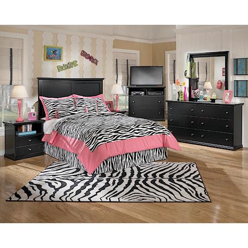 Signature Design by Ashley Maribel Full Bedroom Group