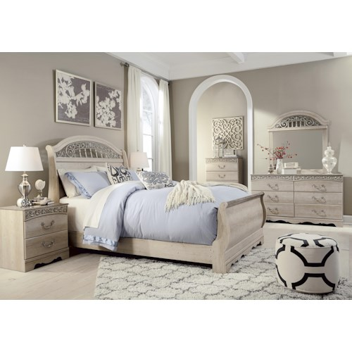 Furniture Ashley Furniture Nashville For Luxury Home: Signature Design By Ashley Catalina Queen Bedroom Group