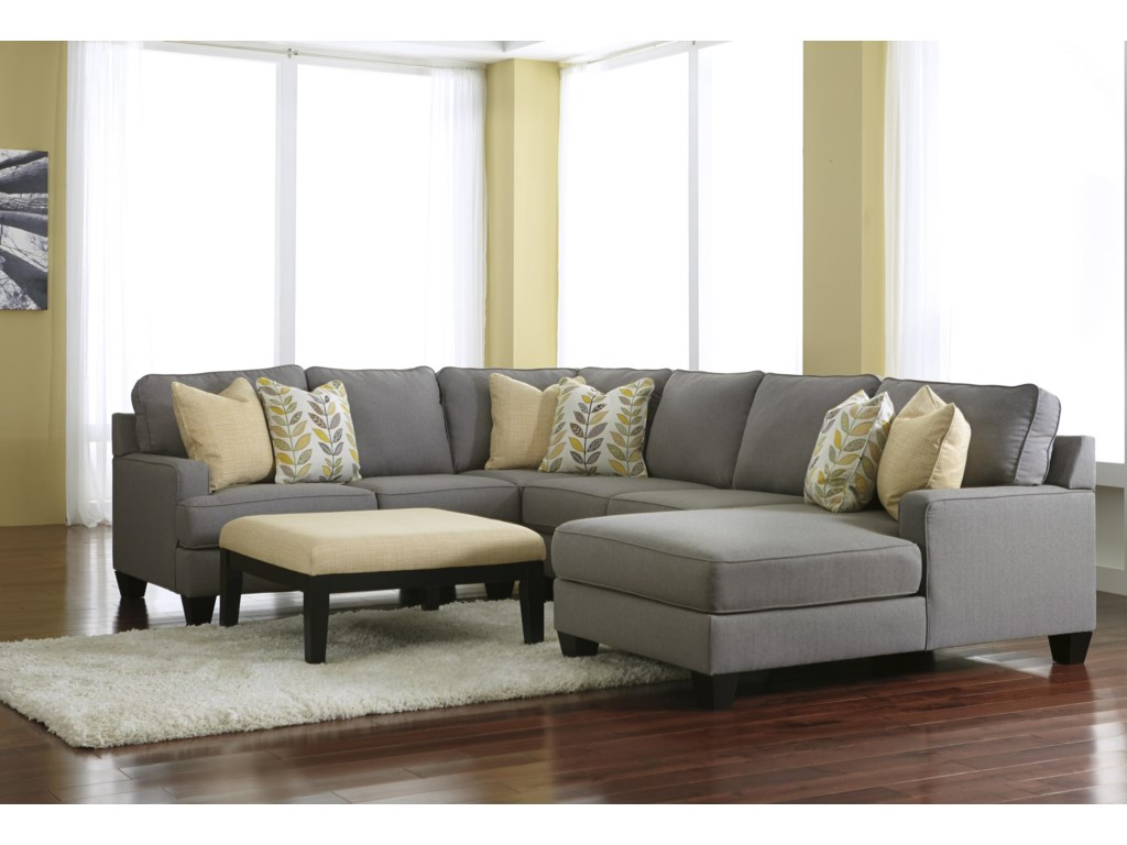 Signature Design by Ashley Chamberly - AlloyStationary Living Room Group