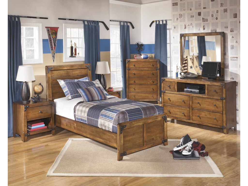 Ashley (Signature Design) DelburneTwin Bedroom Group