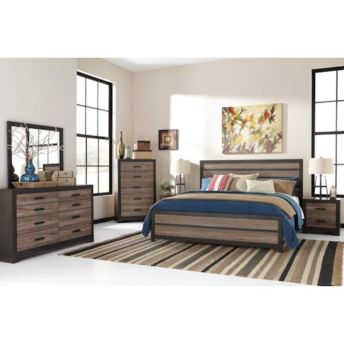 Signature Design by Ashley Harlinton Queen Bedroom Group