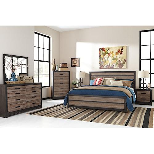 Signature Design by Ashley Harrington 5PC King Bedroom Set