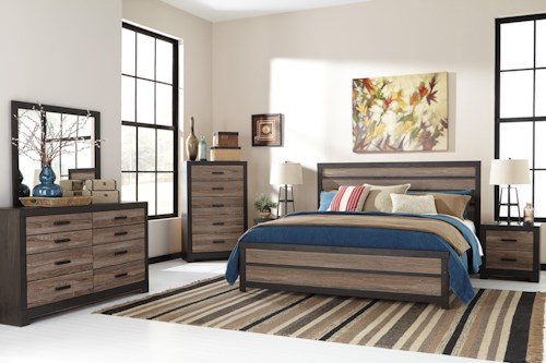 Signature Design by Ashley Harlinton King Bedroom Group
