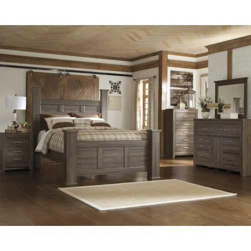 Signature Design by Ashley Juararo California King Bedroom Group