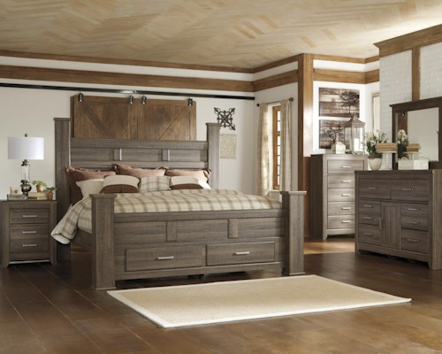 Signature Design by Ashley Juararo King Bedroom Group