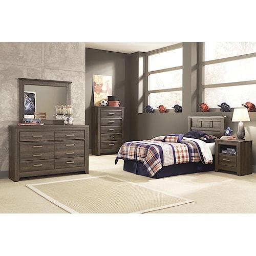 Signature Design by Ashley Juararo Twin Bedroom Group