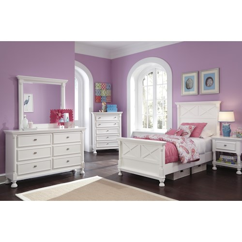 Signature Design by Ashley Kaslyn Twin Bedroom Group