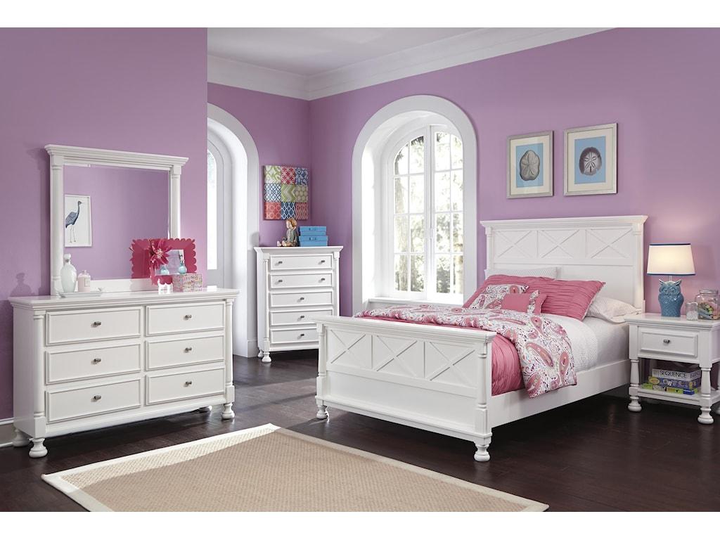 Ashley (Signature Design) KaslynQueen Bedroom Group
