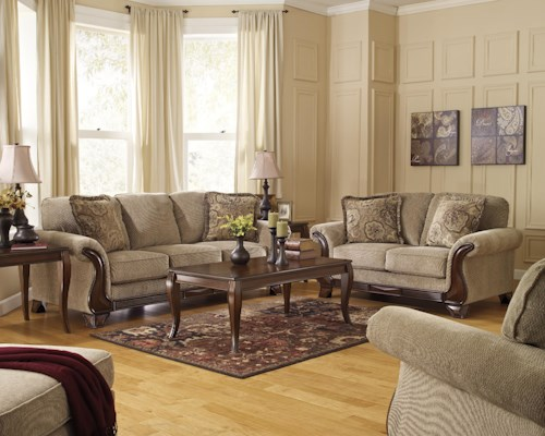 Signature Design by Ashley Lanett Stationary Living Room Group