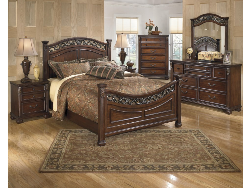 Ashley Signature Design LeahlynQueen Bedroom Group
