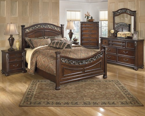 Signature Design by Ashley Leahlyn Queen Bedroom Group