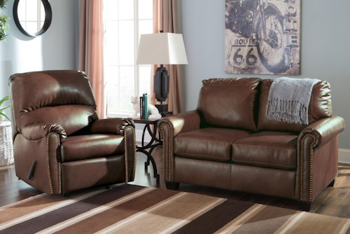 Signature Design by Ashley Lottie DuraBlend® Stationary Living Room Group