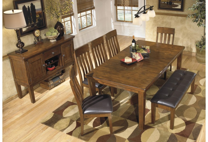 Ashley Signature Design Ralene D594 Dining Room Group 4 Formal Dining Room Group Dunk Bright Furniture Formal Dining Room Groups