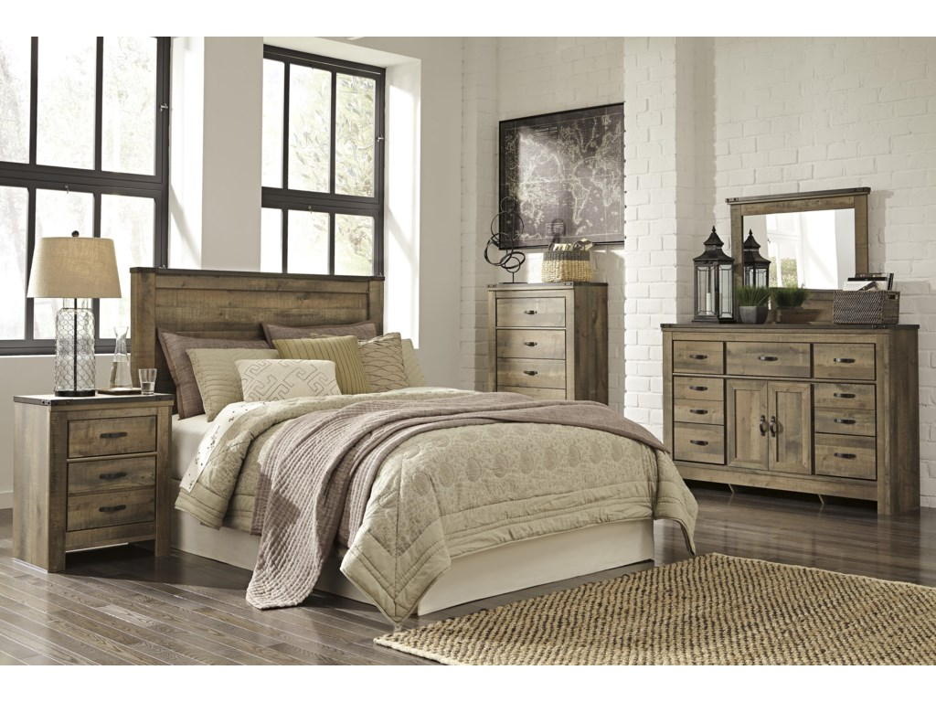 Signature Design by Ashley TrinellQueen Bedroom Group