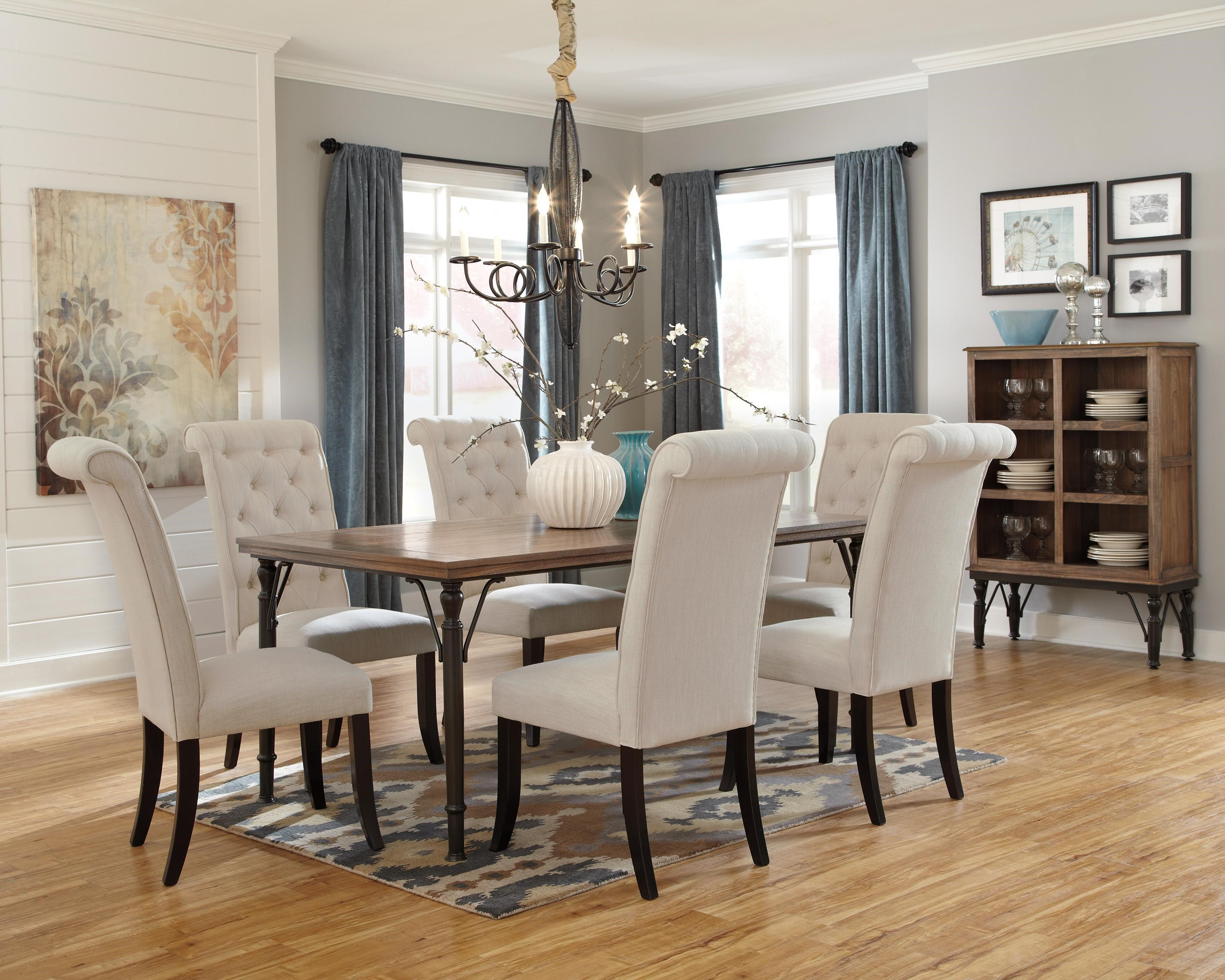 signature design by ashley furniture tripton casual dining