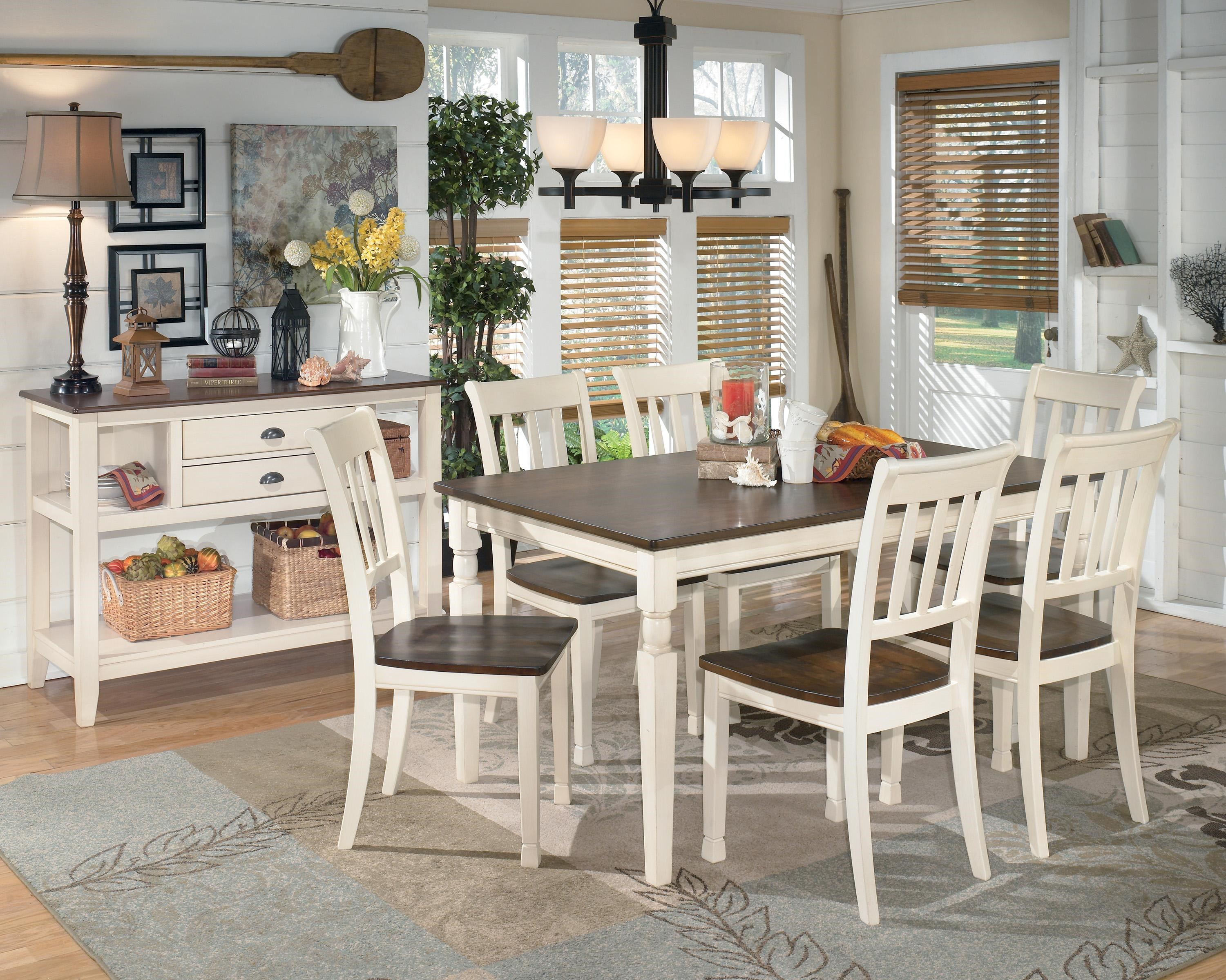 Signature Design By Ashley Whitesburg Casual Dining Room Group