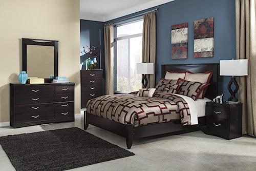 Signature Design By Ashley Zanbury Queen Bedroom Group Furniture Mart Colorado Bedroom