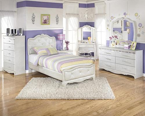 Signature Design by Ashley Zarollina Twin Bedroom Group