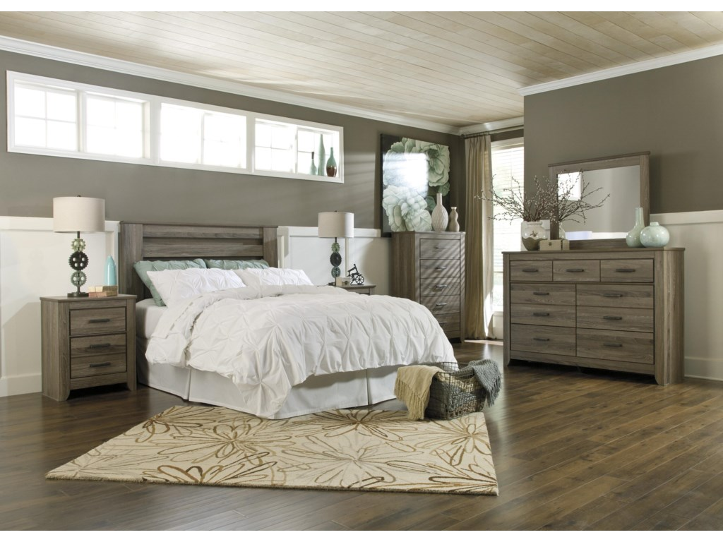 Signature Design by Ashley ZelenFull/Queen Bedroom Group