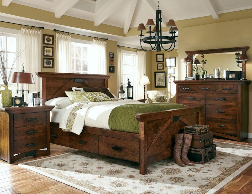 B And O Railroad K28 By Simply Amish Mueller Furniture