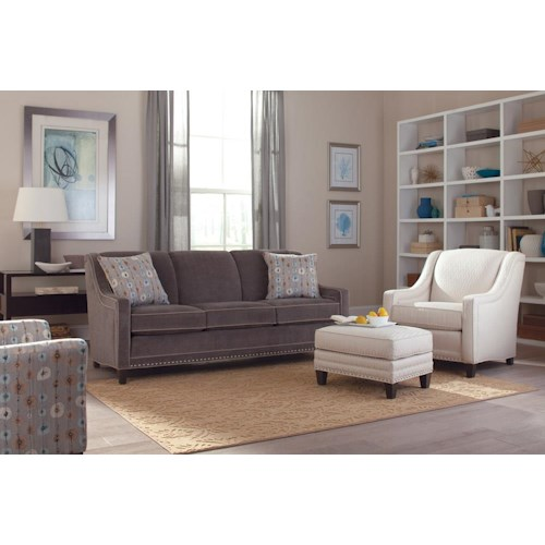 Smith Brothers 233 Stationary Living Room Group