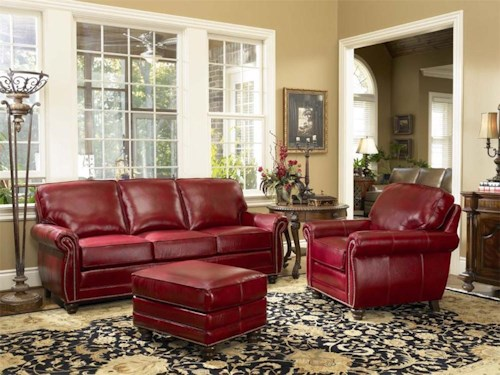 Smith Brothers 302 Stationary Living Room Group