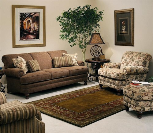 Smith Brothers 346 Stationary Living Room Group