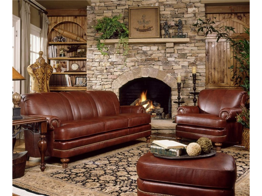 Smith Brothers 346Stationary Living Room Group