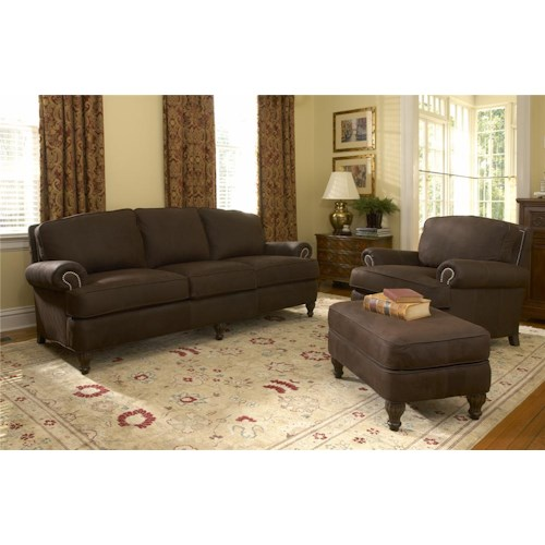 Smith Brothers 358 Stationary Living Room Group