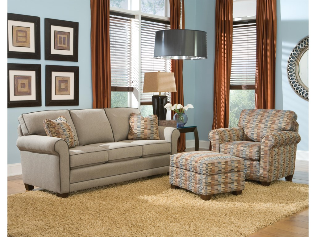 Smith Brothers 366Stationary Living Room Group