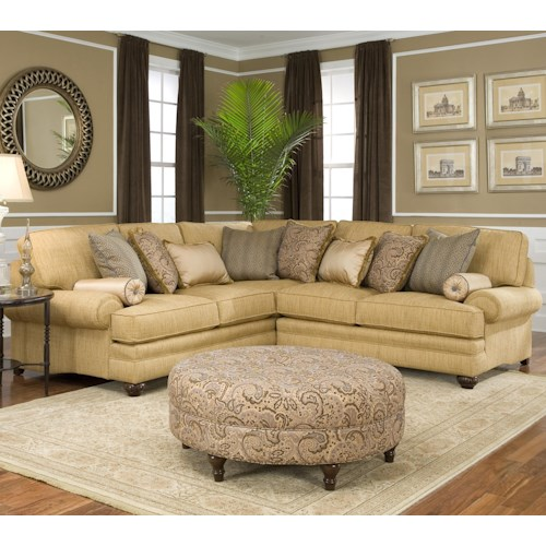 Smith Brothers 376  Stationary Living Room Group