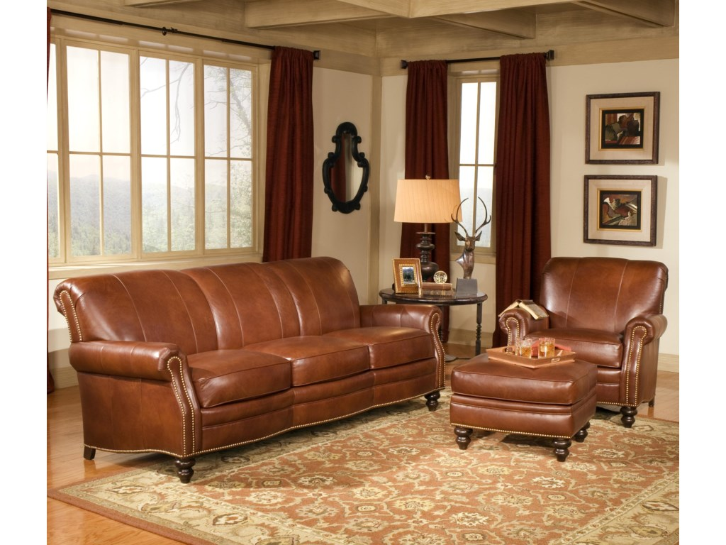 Smith Brothers 383Stationary Living Room Group