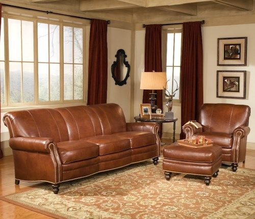Smith Brothers 383 Stationary Living Room Group