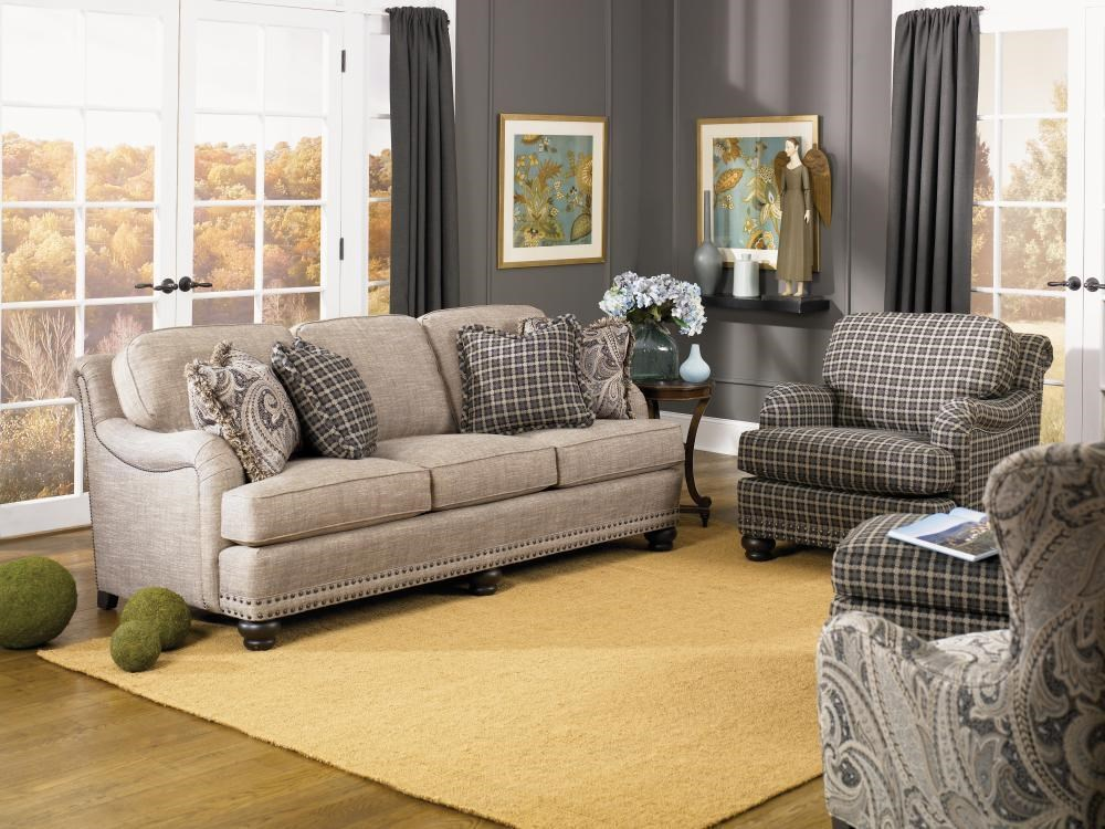 Smith Brothers 388Stationary Living Room Group