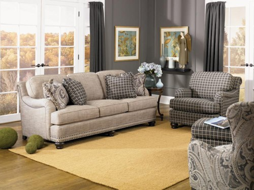 Smith Brothers 388 Stationary Living Room Group