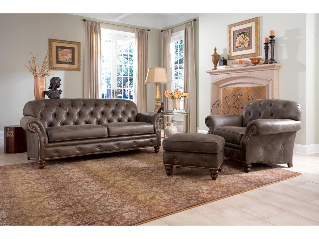 Smith Brothers 396Stationary Living Room Group
