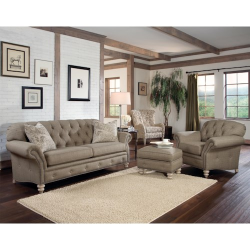 Smith Brothers 396 Stationary Living Room Group