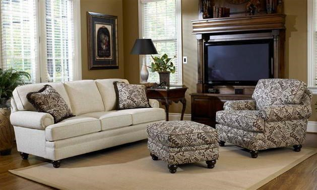 Smith Brothers Build Your Own (5000 Series)Stationary Living Room Group