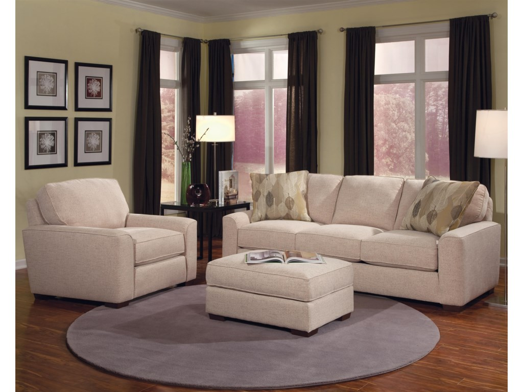 Smith Brothers Build Your Own (8000 Series)Stationary Living Room Group
