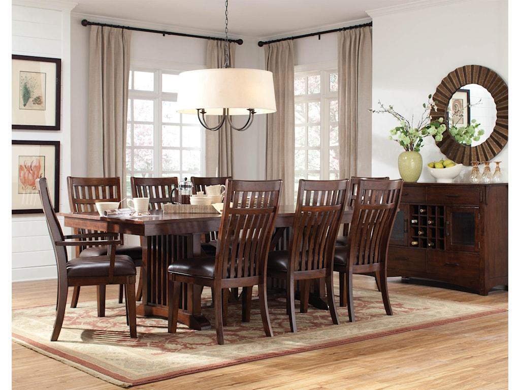 Standard Furniture Loft Formal Dining Room Group 1