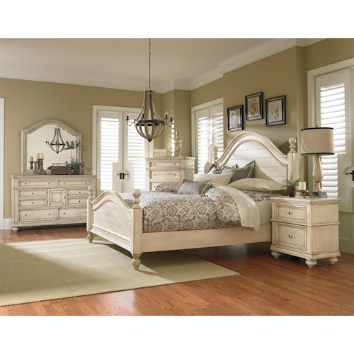 Standard Furniture Chateau King Bedroom Group