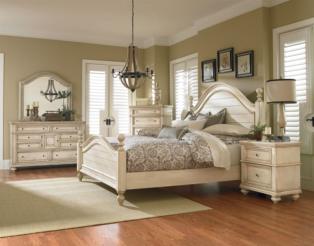Chateau king bedroom group by standard furniture