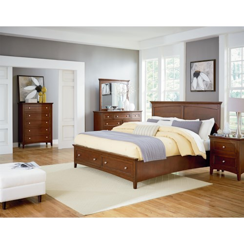 Standard Furniture Cooperstown King Bedroom Group