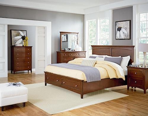 Standard Furniture Cooperstown Queen Bedroom Group