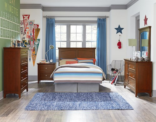 Standard Furniture Cooperstown Full Bedroom Group