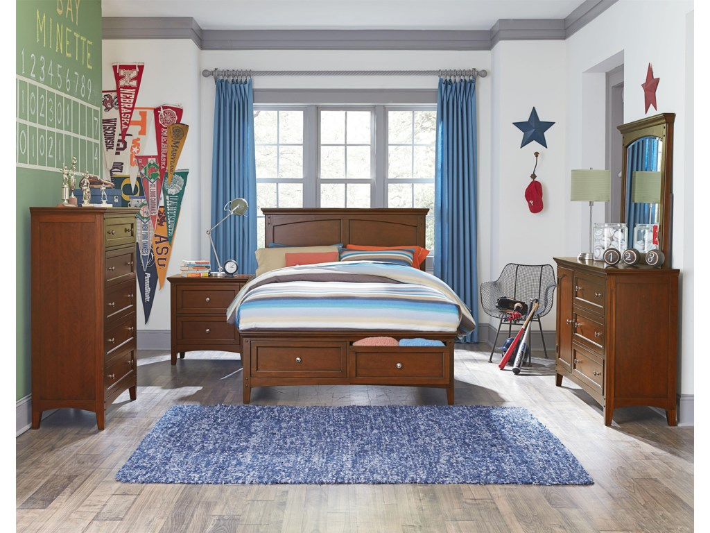 VFM Signature CooperstownFull Bedroom Group
