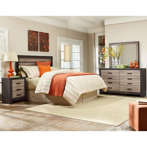 Standard Furniture Freemont King Bedroom Group