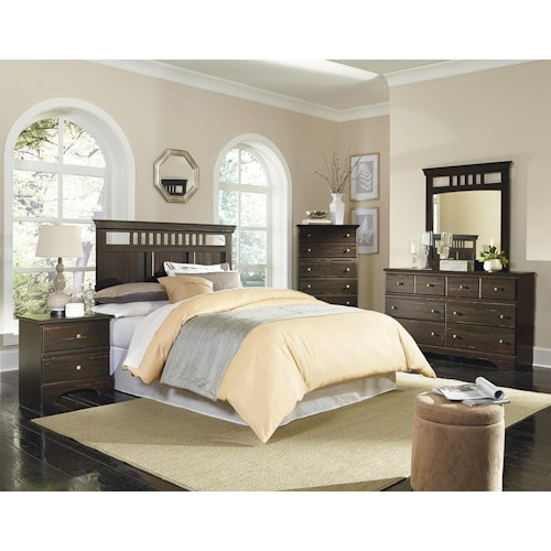 Standard Furniture Hampton King/California King Bedroom Group