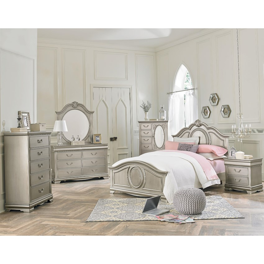 Jessica Silver by Standard Furniture